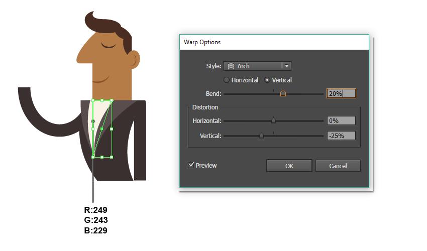 how to create the shirt