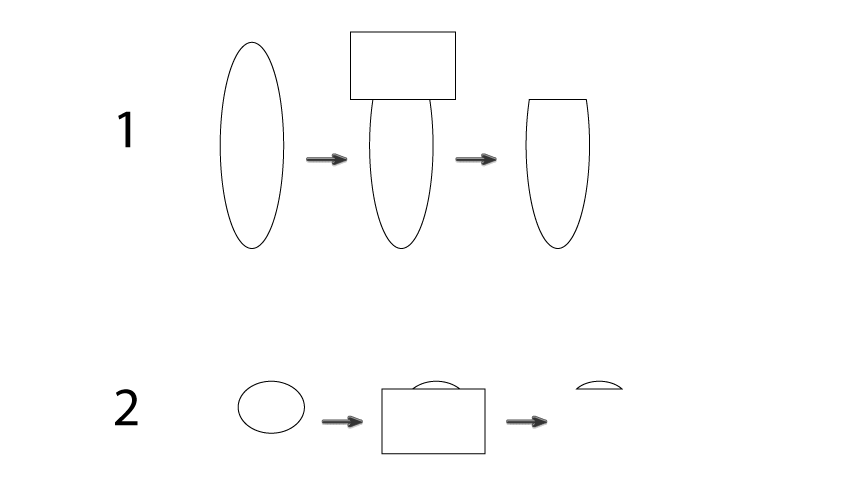 how to create the glass