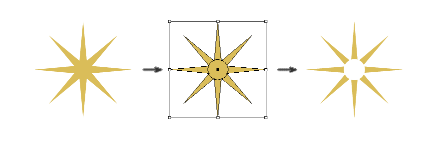 how to create the star