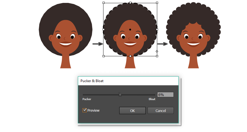 how to create the African hair style