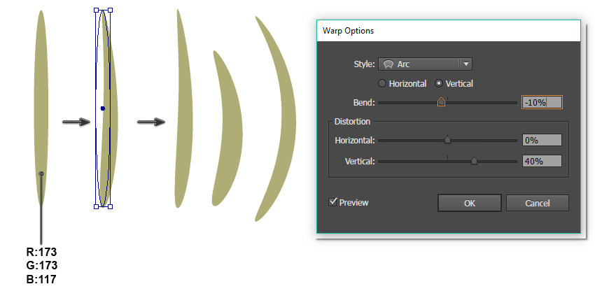 how to create the leaf