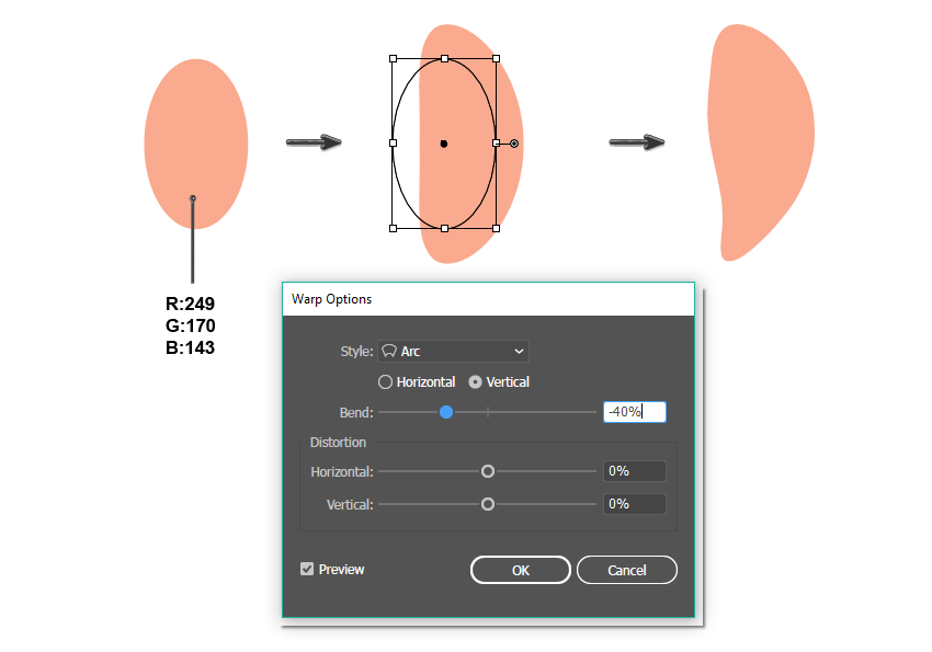 how to create the petal