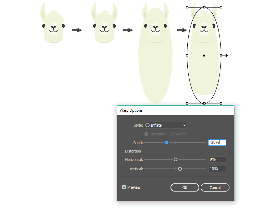 how to create the neck