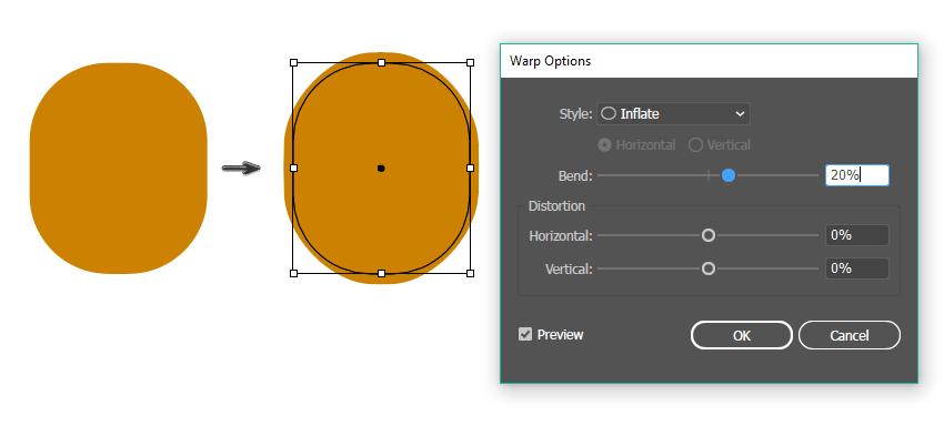 how to create the pineapple shape
