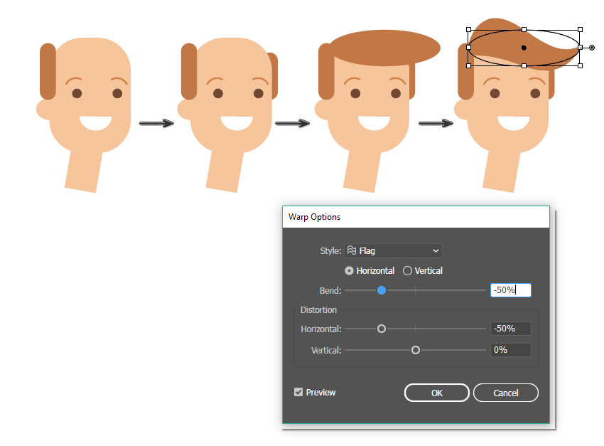 how to create the hair style