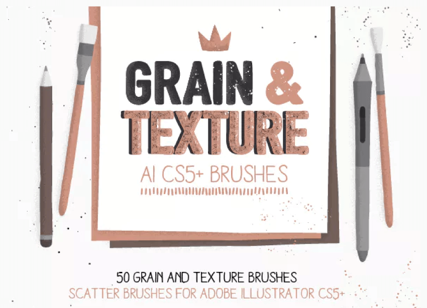 Grain and Texture AI Brushes