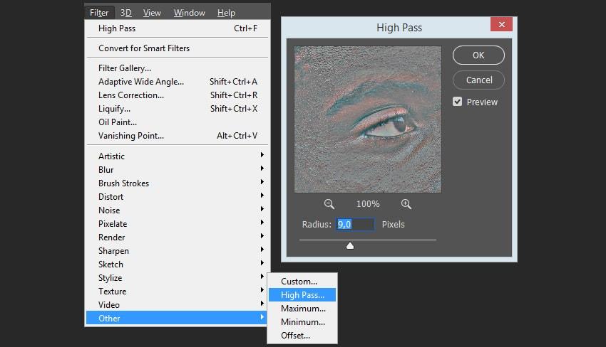 Adding high pass filter