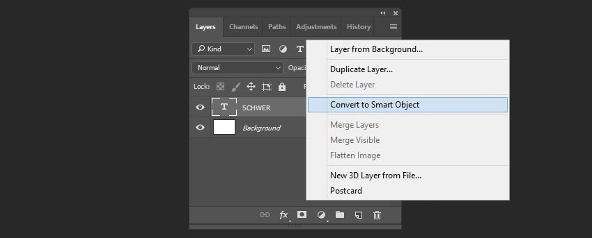 Creating smart object