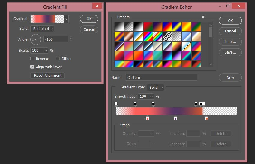 [Image: creating%20the%20second%20gradient%20fill%20layer.jpg]