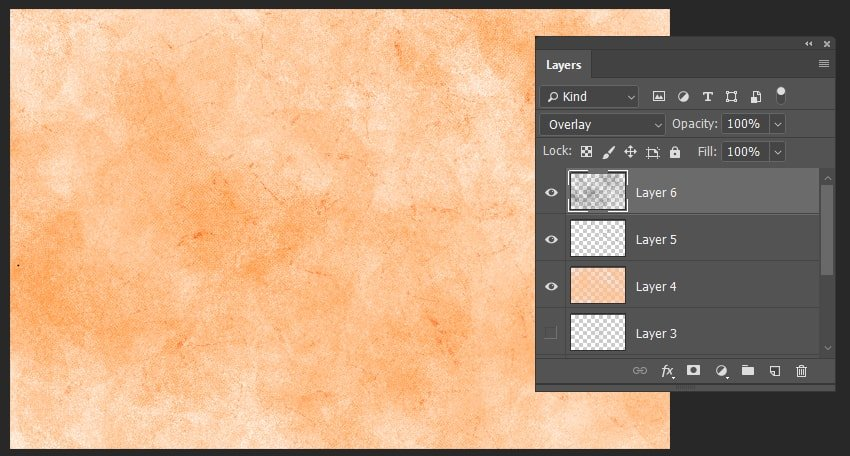 creating the last layer of the texture