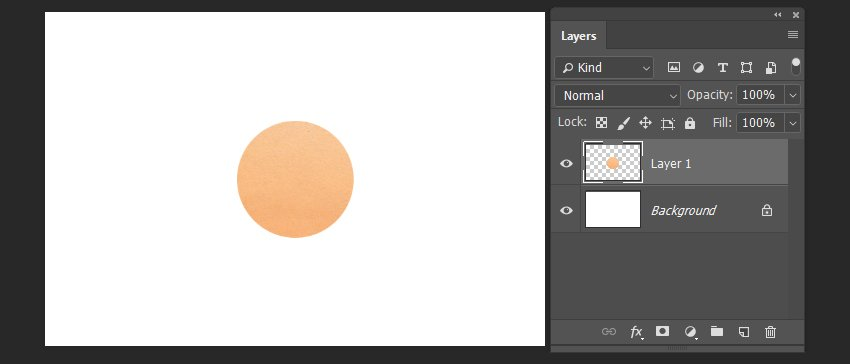 pasting the part of the texture to a new document
