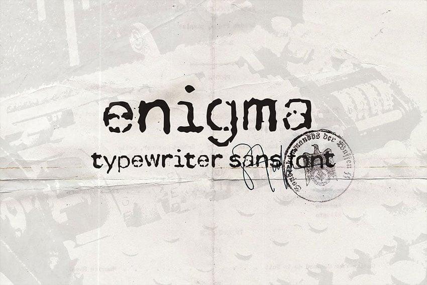 httpselementsenvatocomenigma-typewriter-sans-font-2C69VV