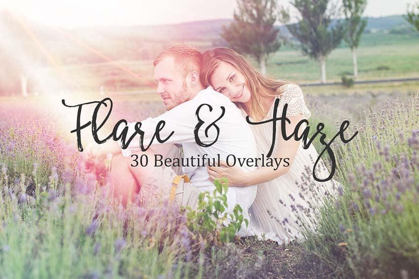 30 Flare and Haze Overlays