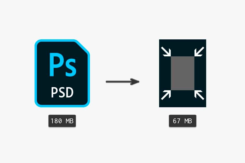 comparing the original file with a smaller canvas size file