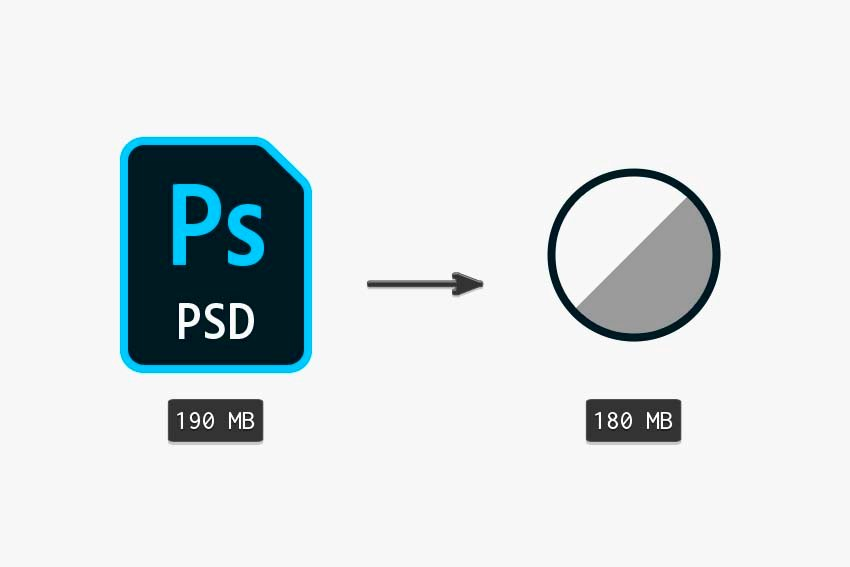 comparing the original file with duplicated layer and file with adjustments layer