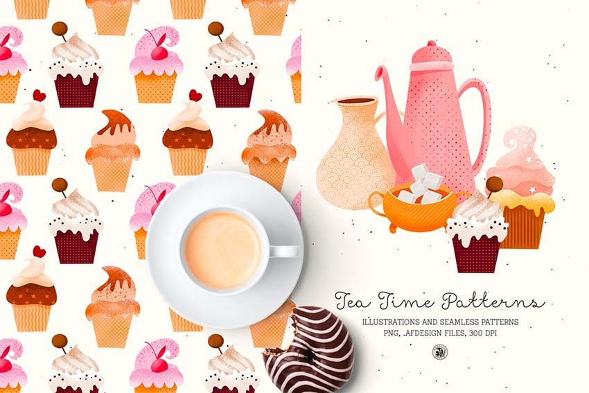 Tea Time Patterns
