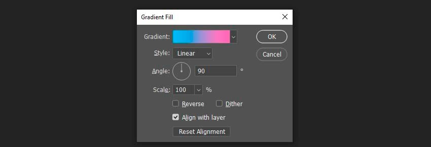 creating a gradient fill
