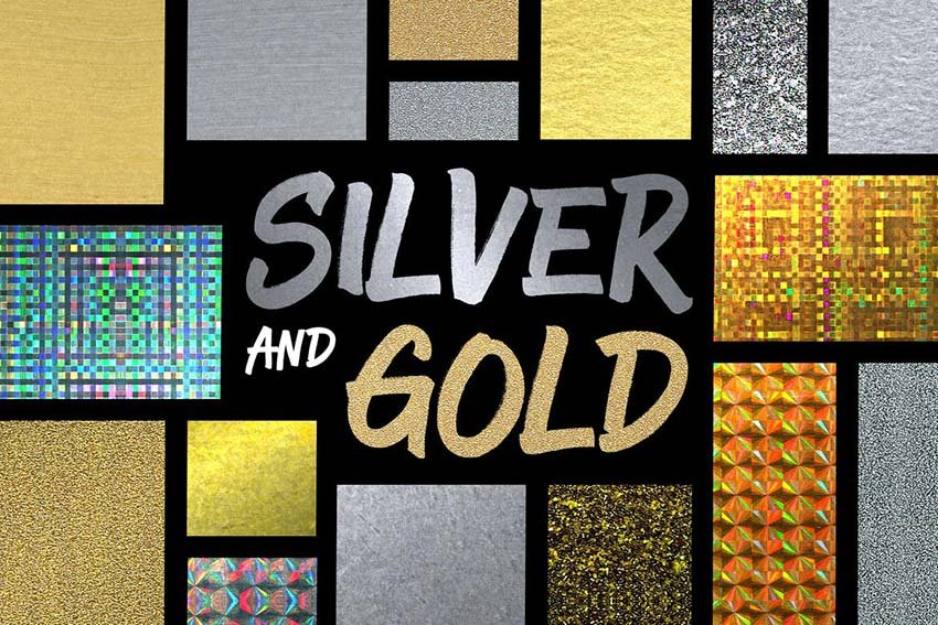 silver and gold styles