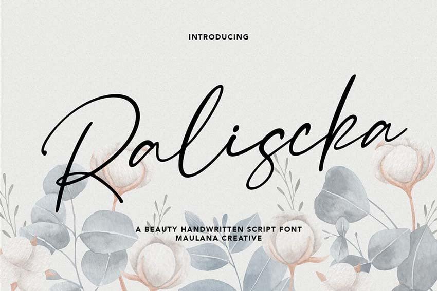 raliscka font