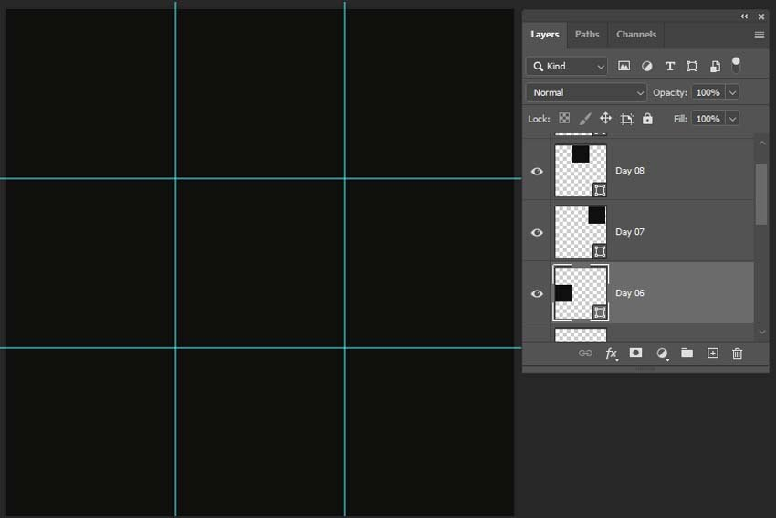 creating the placeholders