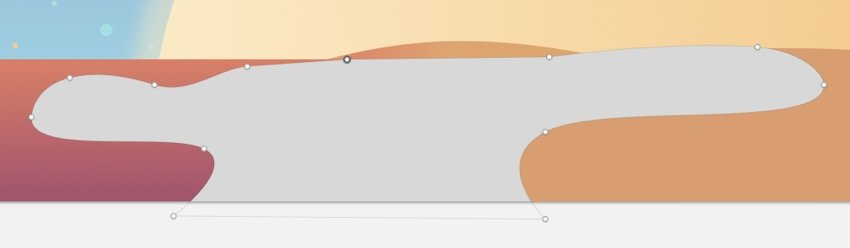 Fourth sand dune shape