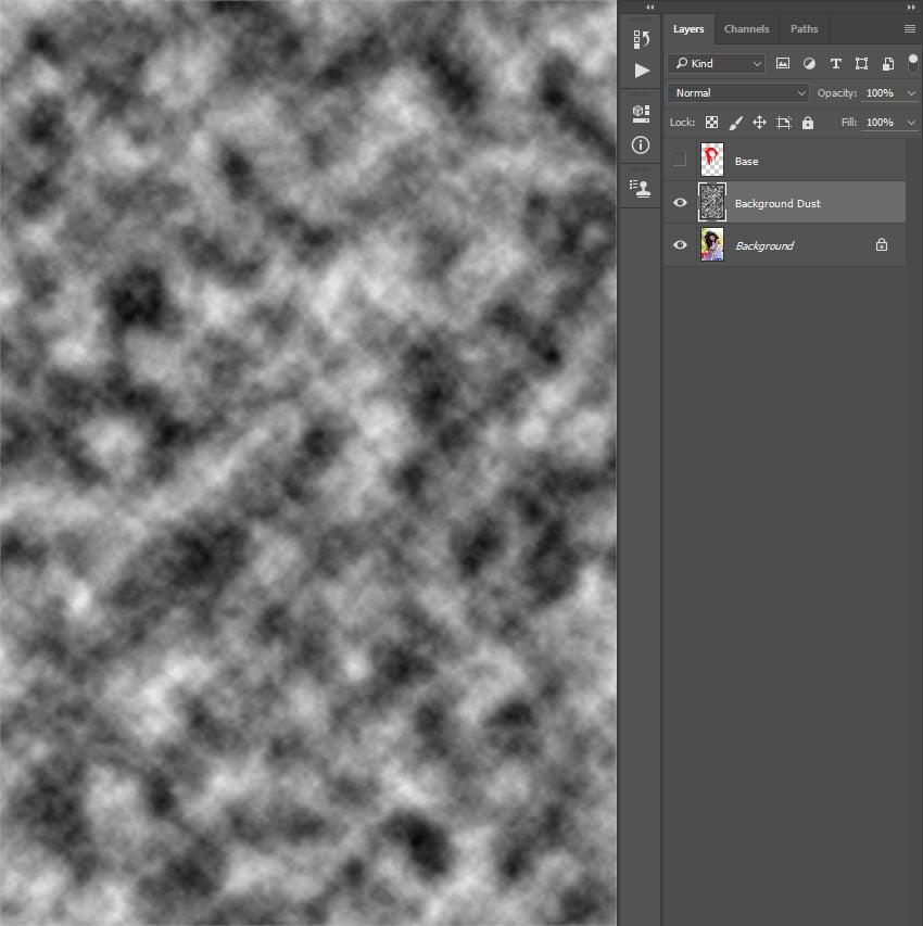Adding clouds filter