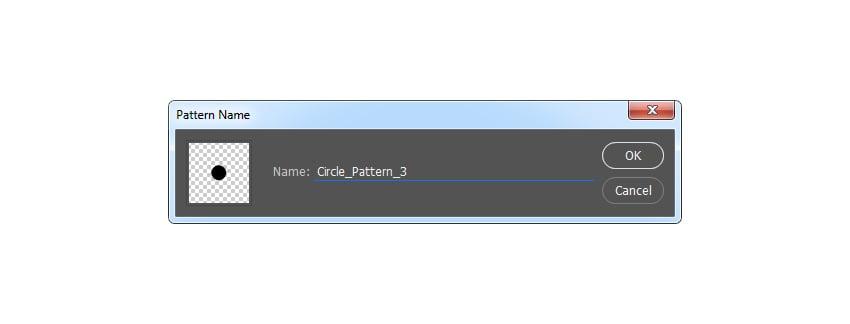 Defining new pattern named Circle_Pattern_3