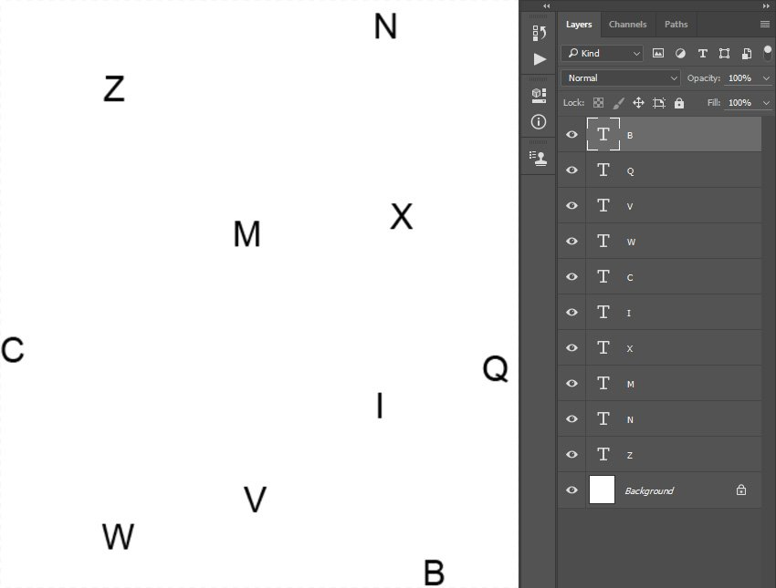 Creating typography pattern 2