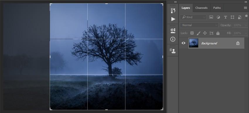 Cropping image