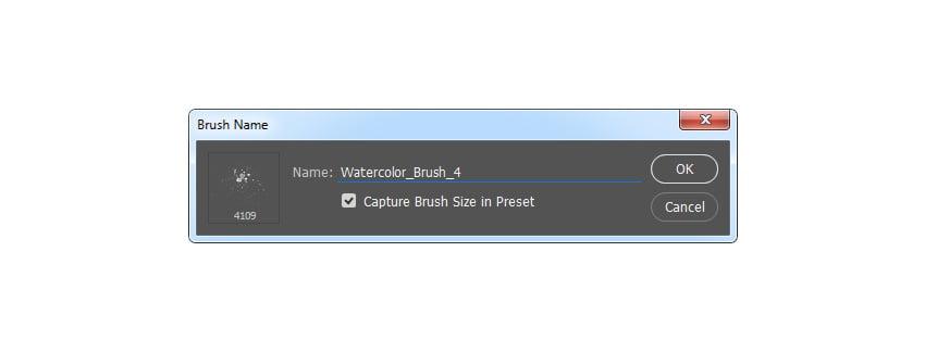 Defining new brush