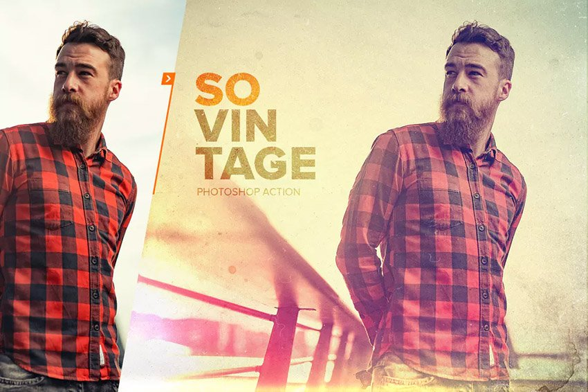 SoVintage Photoshop Action