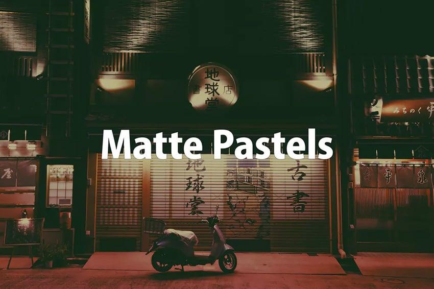 Matte Pastels