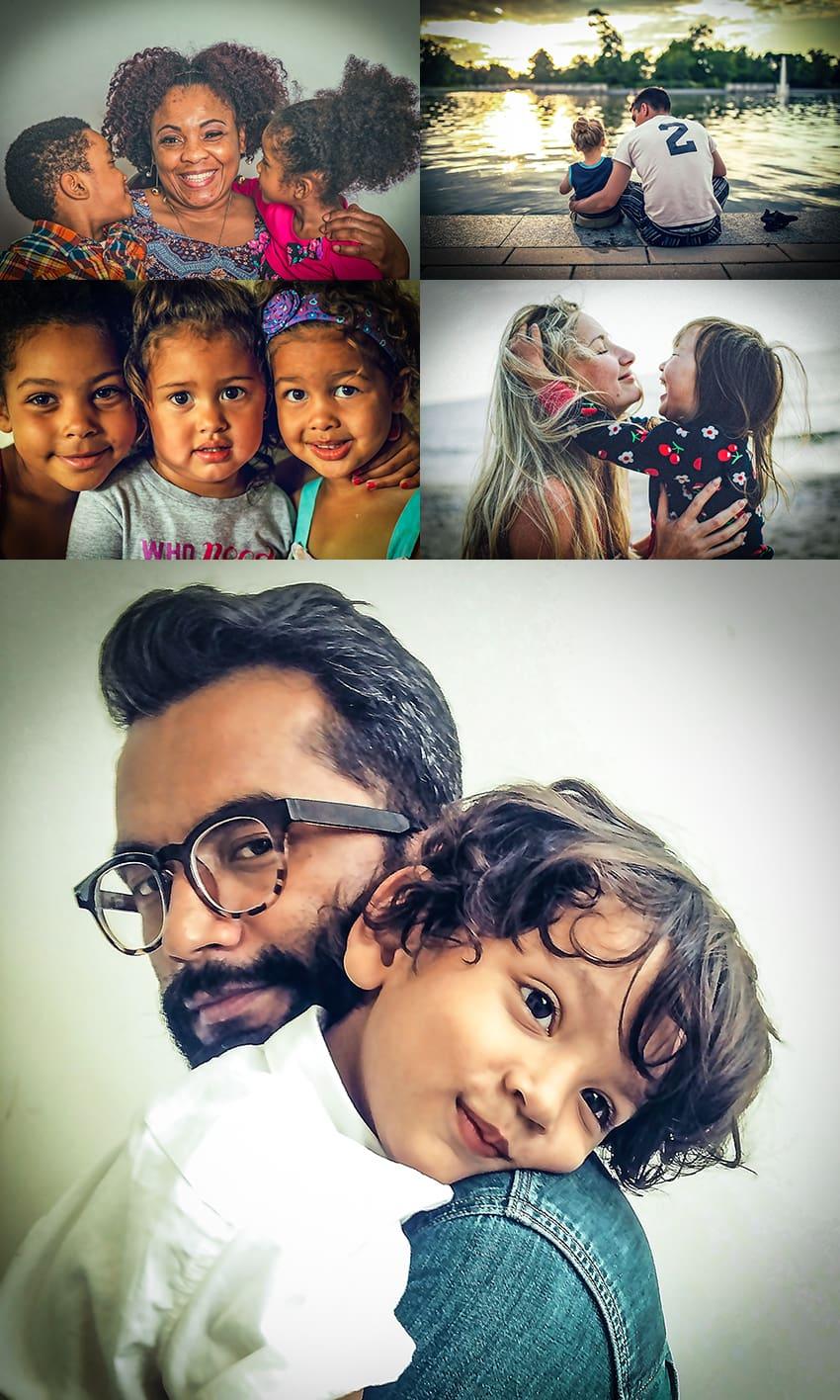 family portrait photoshop action