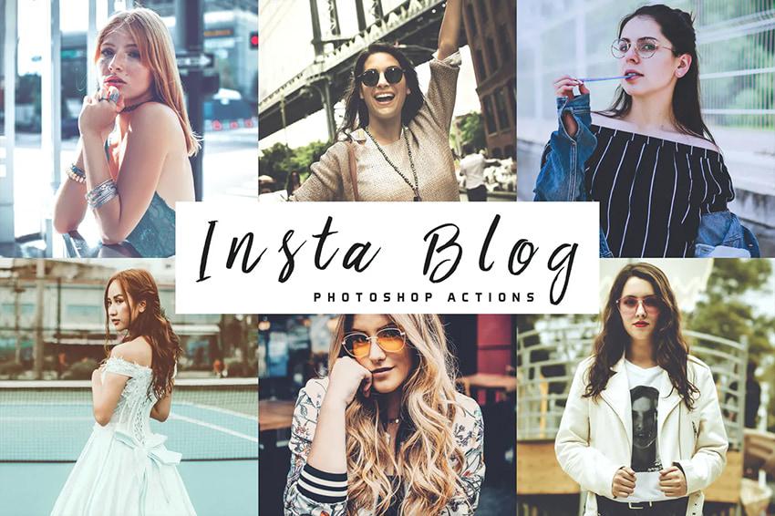 insta blog photoshop actions
