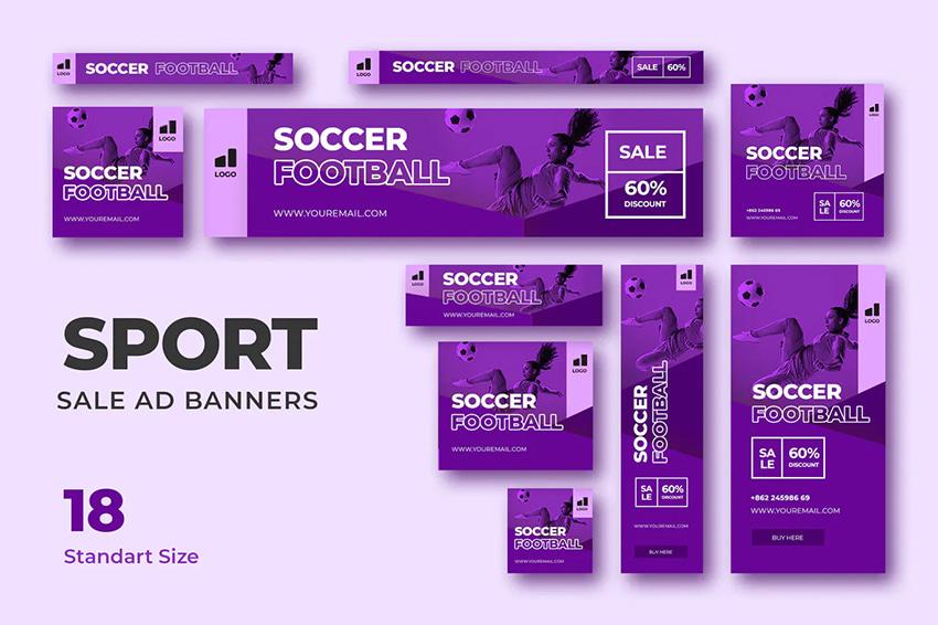 sport web banner