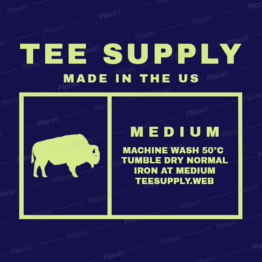 clothing label design generator
