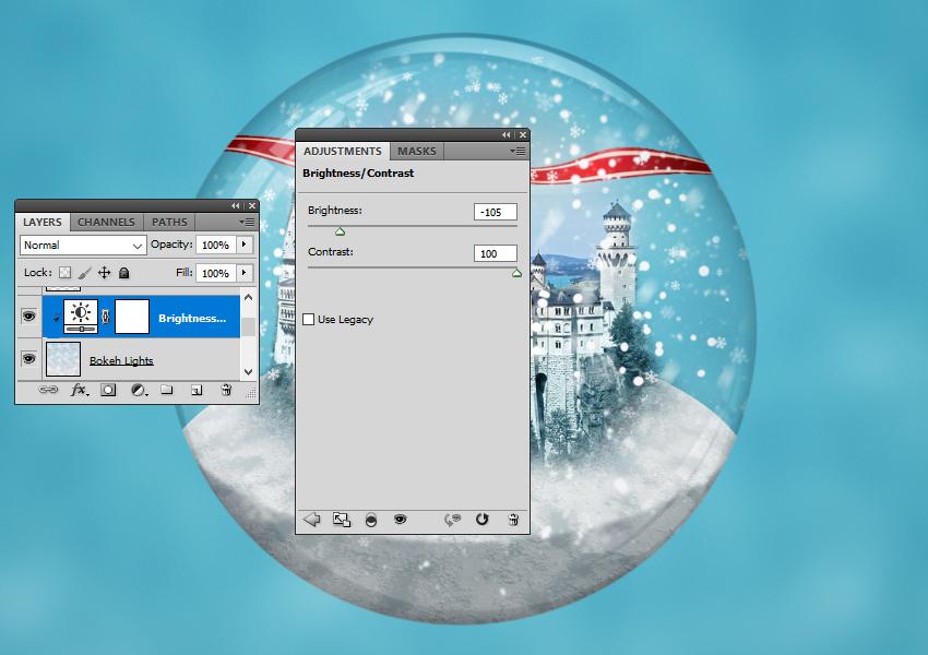 BrightnessContrast Adjustment Layer