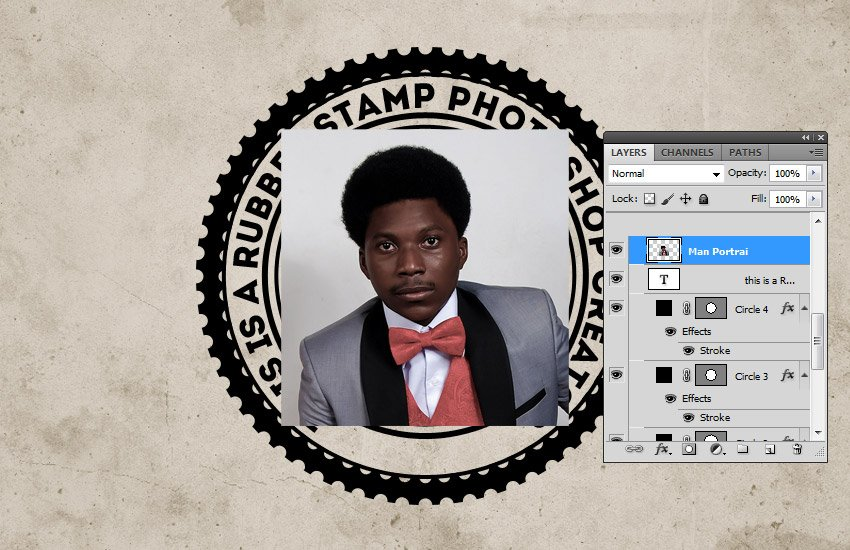 Add Stock Image in Photoshop