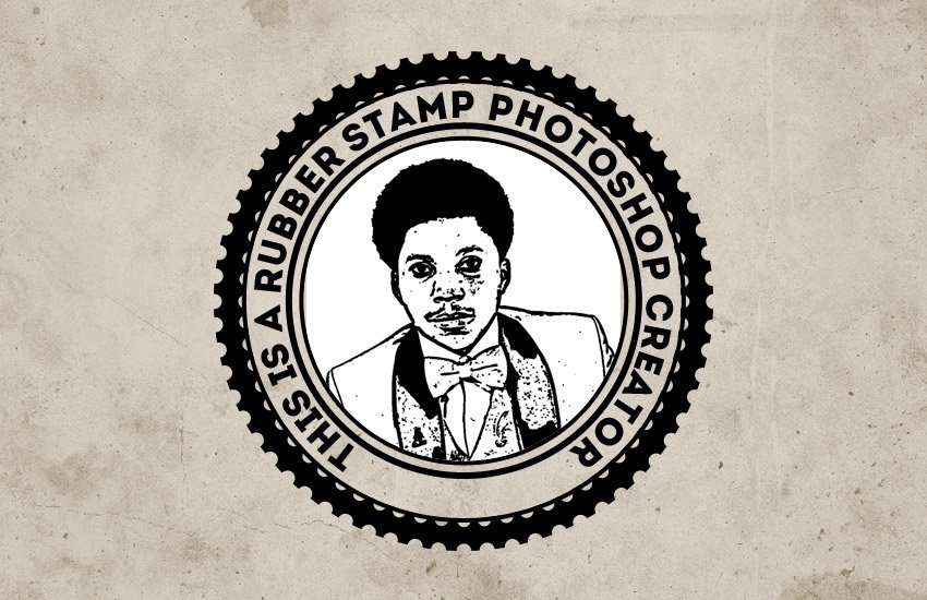 Create Rubber Stamp in Photoshop