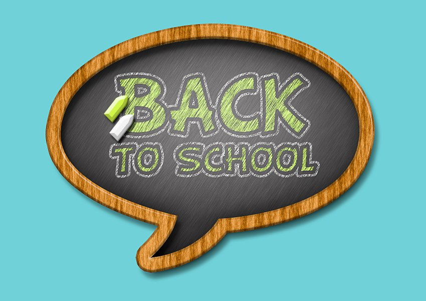 Chalk and Chalkboard Effect in Photoshop