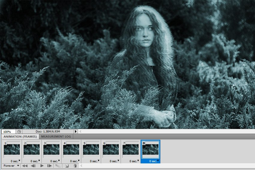 Move Frames in Photoshop