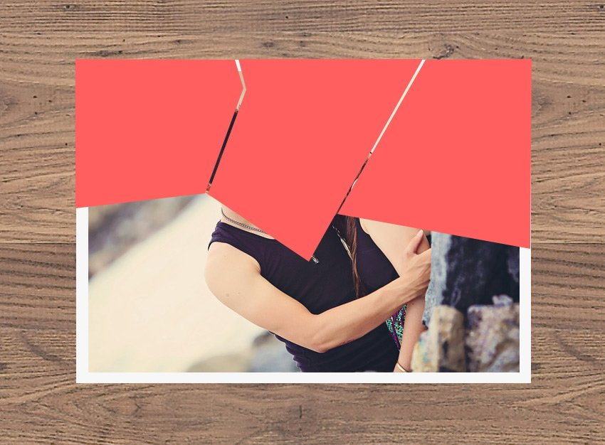 Paper Cut Shape in Photoshop