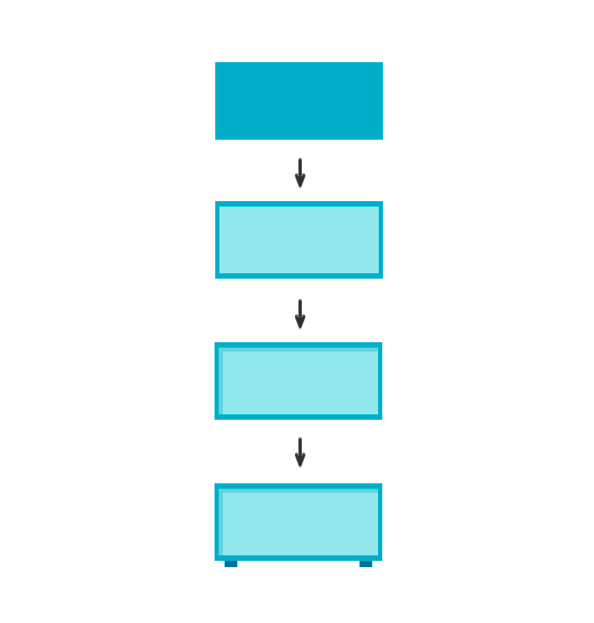 Creating the radio with rectangles