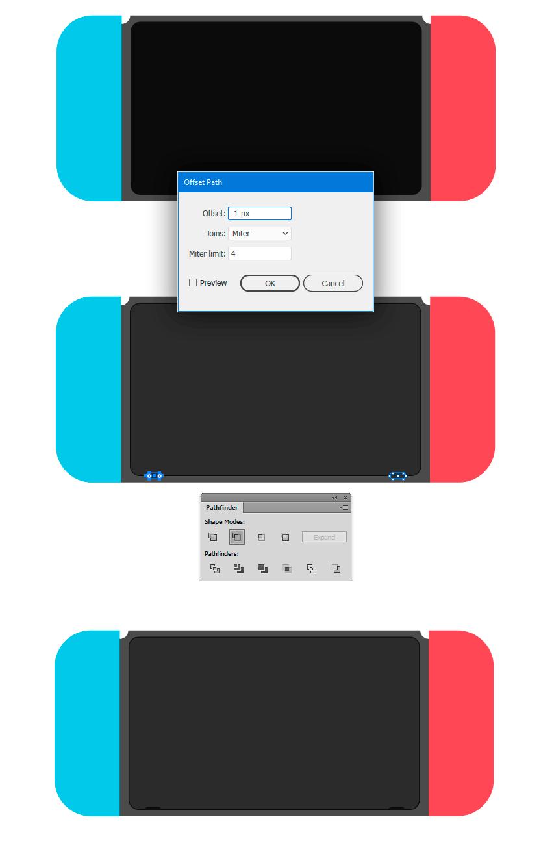 Aplying rounded screen inner