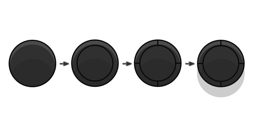 Adding a joystick with ellipses
