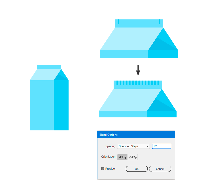 Adding more details in the milk