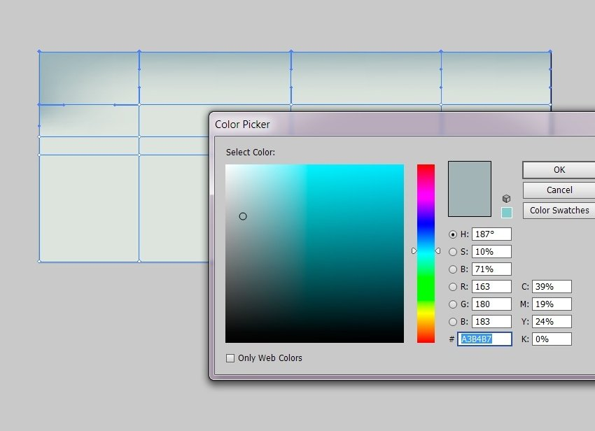 Color the nodes with A3B4B7