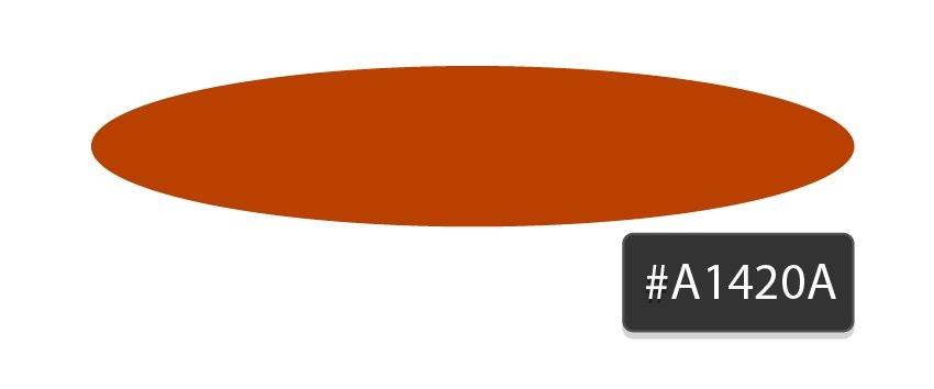 dark orange circle