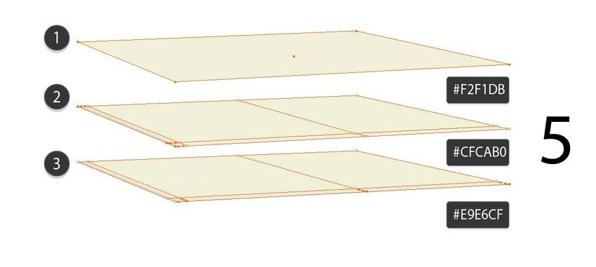 draw the lid using gradient mesh