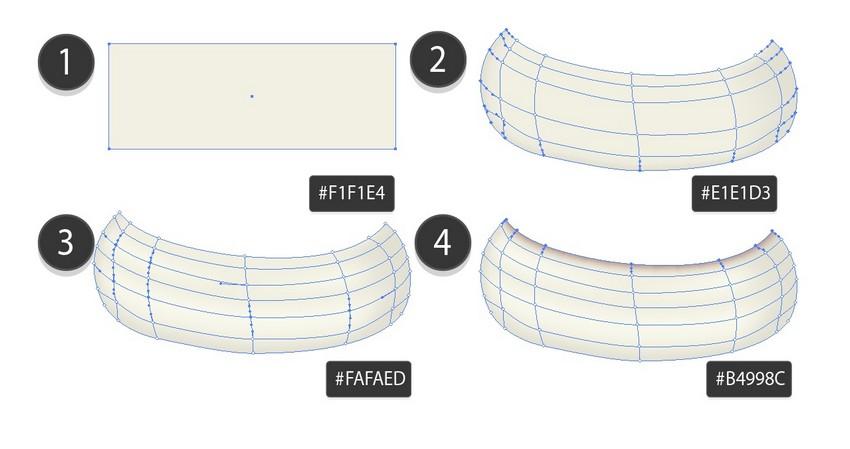 draw mesh rim